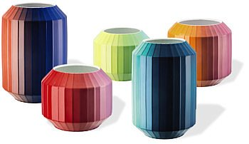 Hot spot vase collection