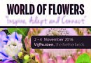 "IFTF ""world of flowers 2016"" opens it's doors in a few weeks"